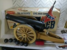 remco mint johnny reb cannon works balls