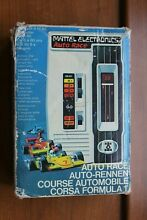 mattel auto race hand held electronic game 1970s