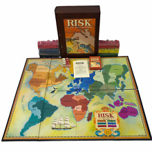 risk parker brothers game wooden library