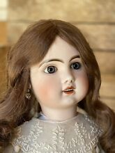 jumeau tête open mouth bisque doll size