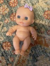 berenguer baby doll girl blue eyes realistic
