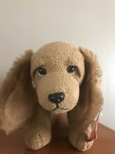russ berrie luv pets scooter beanie puppy dog