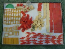 meccano pieces and soofing