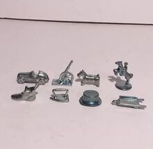 monopoly 0009 replacement parts 8 metal