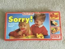 waddingtons sorry 1983 board game great britain