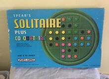 spears game 1970 spears solitaire game boxed