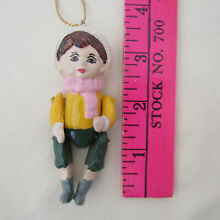 wooden puppet jointed wooden boy puppet doll