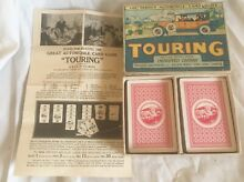 touring game 1930s parker bros touring card game