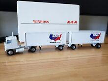 winross truck double pup trailers hitch anr