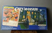spears game cats mansion s boardgame feline