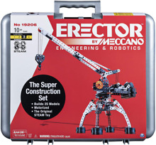 meccano steam engine erector by meccano super