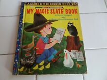 magic slate my book a giant little golden book