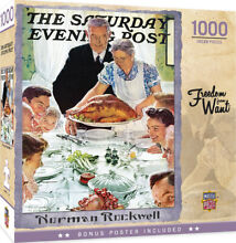 norman rockwell puzzle masterpieces puzzle saturday