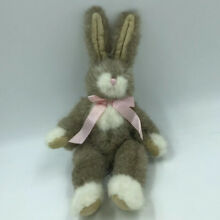 russ berrie 10 hopscotch brown easter bunny