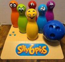 bowling game silly 6 pins electronic talking