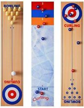 bowling game rsoamy table curling game 3 in 1