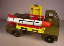 nylint 1950 s army missile carrier truck
