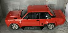 abarth fiat 131 1980 in red 1 18 scale