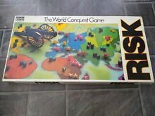 risk board game by parker world conquest