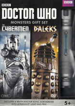 dr who doctor who monsters gift set
