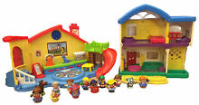 little people fisher price pre school playhouse