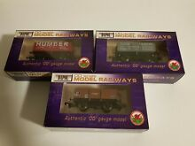 dapol wagons x3 boxed near new condition