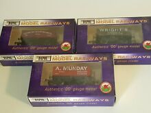 dapol wagons x3 boxed as new condition