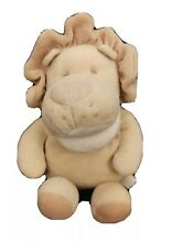 russ berrie plush simply natural baby lion hand
