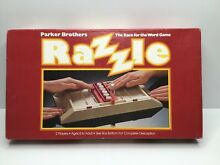 go for it parker razzle race for word game parker