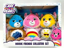 care bears new hoodie friends collector set