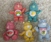 care bears pvc posable figures 3 in 5 kenner