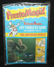 the undersea world dry transfer