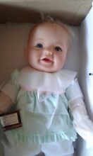 so truly real emerie vinyl baby doll