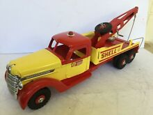 buddy l custom shell wrecker tow
