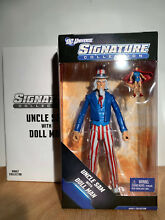 uncle sam dc signature collection doll man