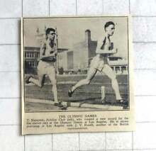 soundwagon 1932 olympic record runner t