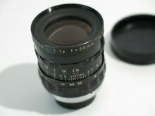 Cine Nikkor 50mm 1 8 C Mount M25