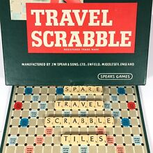 scrabble travel small spare replacement