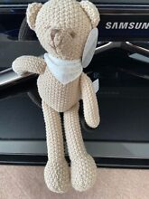 tommy toy tommy ted crochet knitted soft toy