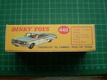dinky toys dinky toy repro box only for no 449