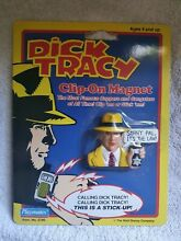dick tracy clip on magnet playmates bandai