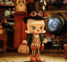 steampunk pop mart x kennyswork molly steam