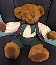 russ berrie edition collection bear dressed in