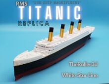 titanic rms model 12 inches detailed