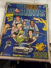 colorforms 1986 real ghostbusters play set