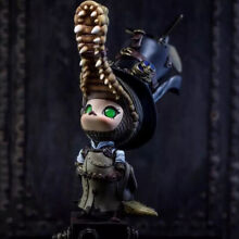 steampunk pop mart x molly molly crocodile