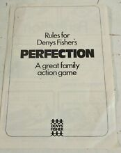 spears game denys fisher perfection original