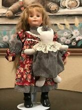 delton porcelain doll 14 tall pretty doll