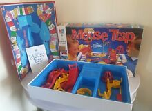 mouse trap game mouse trap board game 1986 complete