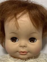 horsman 1971 sofskin tears baby red doll
